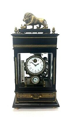 Mystery Ferris Wheel Gravity Weight Driven Regulator Clock - Never Wind It!!
