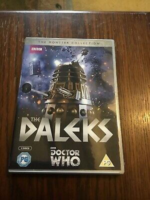 Dr Who DVDs The Monster Collection The Daleks 2 Discs Region 2 Vgc