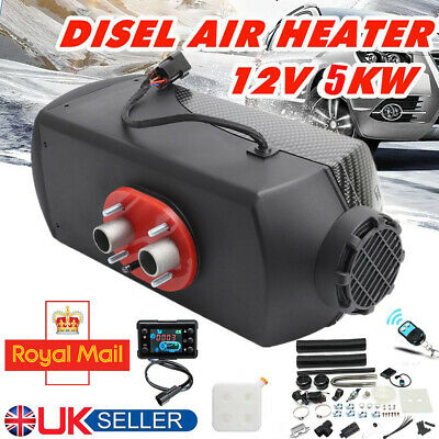 12V 5000W 5KW Air Diesel Heater PLANAR Remote Monitor For Car Truck Motorhome UK