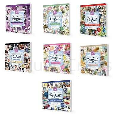 "Hunkydory Picture Perfect 8"" x 8"" Paper Pad 150gsm - Full Paper Pad 48 Pages"