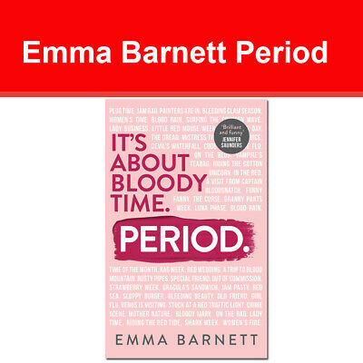 Period by Emma Barnett 9780008308070 It's about bloody Time Period NEW book