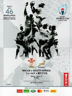 Rugby World Cup Semi-Final - Wales v South Africa - 27 October 2019 - Mint.