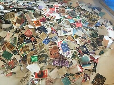 100 GB British Commemorative Stamps off paper franked multi discount  REDUCED