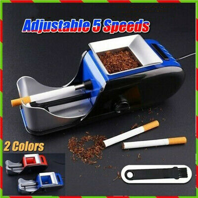 Cigarette rolling machine Electric Easy Automatic Tobacco Injector Maker Roller