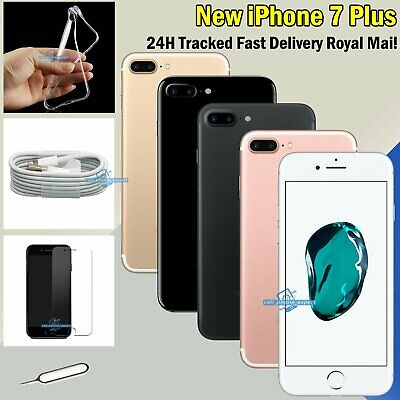 NEW 32GB 128GB 256GB Mobile Unlocked Smartphone Apple iPhone 7 Plus All Colours