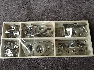 Brand New 120 Assorted Crafting Silver metal Decorative Rivets
