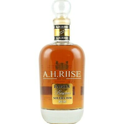 (EUR84,61/l) Rum A.H. Riise Family Reserve 1838 Solera 0,7l 42%