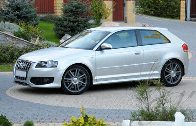 Audi A3 8P 3 Doors Side Skirts S3 Look