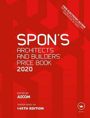 Spon's Architects and Builders Price Book 2020 -145th Edition [ PDF Dispatch]