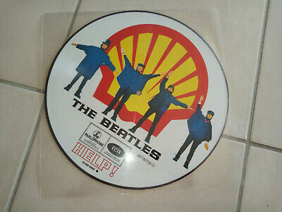 THE BEATLES Help Shell cover PICTURE DISQUE 14 Titres
