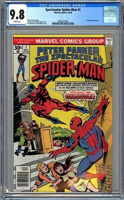 Peter Parker Spectacular Spider-Man #1 - Cgc 9.8 - Wp - Nm/Mt