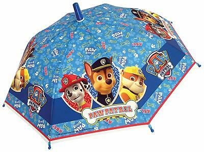 PAW PATROL POE Umbrella 4676 Kids Childrens Boys in Blue Dome Bubble Official
