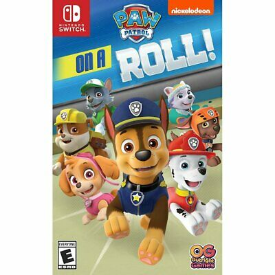 Nintendo Switch Paw Patrol On A Roll Brand New! Sealed! Free Shipping!!!