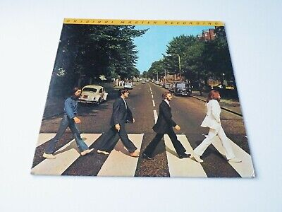 The Beatles 'Abbey Road' Lp Us Capitol Mfsl Original Master Recording '79 Insert
