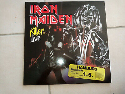 IRON MAIDEN Killer Live Hamburg 81 2LP Rare