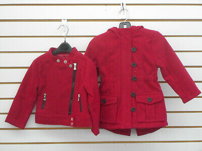Toddler Girls Unbranded & Urban Republic Assorted Red Coats Size 3T