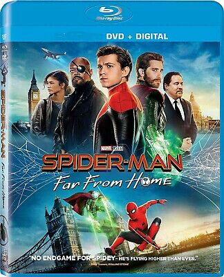 Spider-Man Far From Home Dvd + Digital Hd Uv 2019 Excellent Please Read