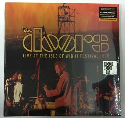 The Doors Live At The Isle Of Wight Festival 1970 2x LPs RSD Black Friday Vinyl