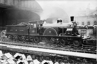 """NER Signalling in colour & North Eastern Railway locos in B+W Sets 6x4"""" Photos"""