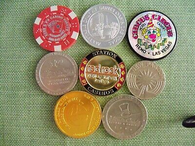 Casino Chips & Tokens.  New & Used.