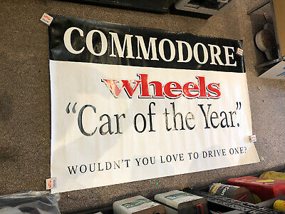 Holden Commodore Wheels Car Of The Year Large Original Poster