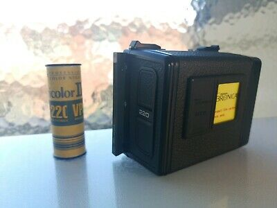 Bronica etr / etrs / etrsi 220 film back and film