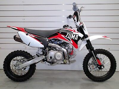 New Zuma Ttr-L 110 Mini Bike 4 Stroke 4 Speed Semi Auto E/Start Dirt Bike Pit..