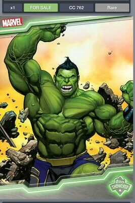Topps Marvel Collect Totally Awesome Hulk Topps Showcase Digital Card!