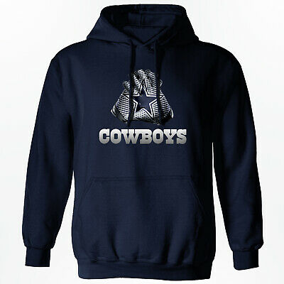 Dallas Cowboys - NFL Gloves Design Hoodie - S-2XL