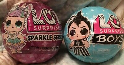 LOL Surprise! NEW SPARKLE + BOYS Series Big Sister Doll (2x Balls) MGA Sealed!