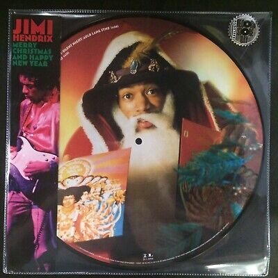 "Jimi Hendrix - ""Merry Christmas And Happy New Year"" new RSD BF 2019"