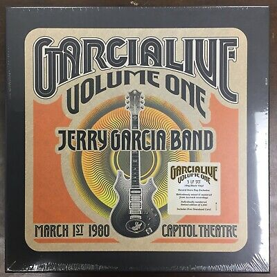 "Jerry Garcia Band  - ""Garcialive Volume One: March 1st, 1980..."" new RSD BF 2019"