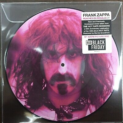 "Frank Zappa  - ""Peaches En Regalia"" new RSD BF 2019"