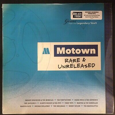 """Various Artists  - """"Motown Rare & Unreleased"""" new RSD BF 2019"""