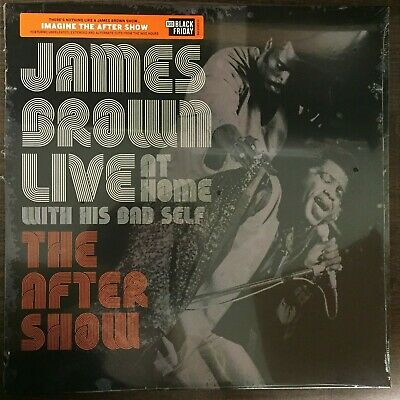 "James Brown  - ""Live At Home: The After Show"" new RSD BF 2019"