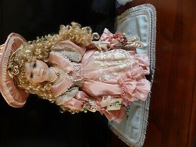 Porcelain Doll Limited Edition No 226 of 2500.  55 cms
