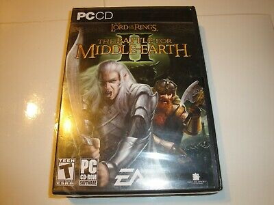 Brand New Lord of the Rings: The Battle for Middle-earth II PC GAME