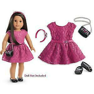 Amercan Girl Doll Merry Magenta Outfit New from Christmas 2016