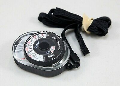 Sekonic L-208 Twinmate Twin Mate Light Meter L208 - Exc condition c/w strap
