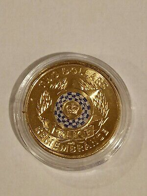 $2 Police Remembrance coin 2019 From Mint Bag in a coin capsule