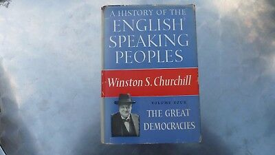 A History of the English-speaking Peoples  Book Volume four Winston S. Churchill