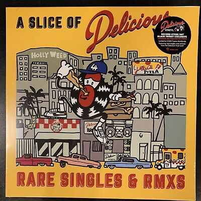 """Various Artists  - """"A Slice Of Delicious Vinyl: Rare Singles .."""" new RSD BF 2019"""