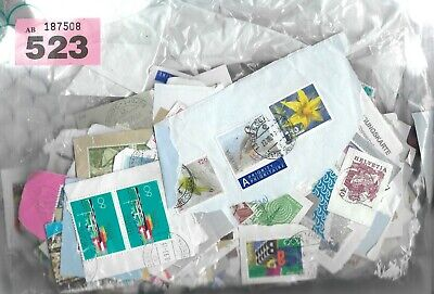 Lot Of Swiss Kiloware With Off Paper Stamps