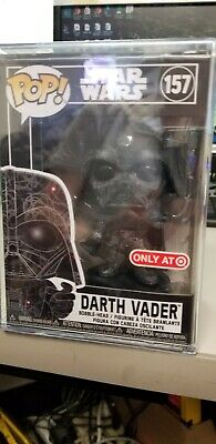 Darth Vader Futura Funko Pop Target Exclusive Hard Stack IN HAND Immediate Ship