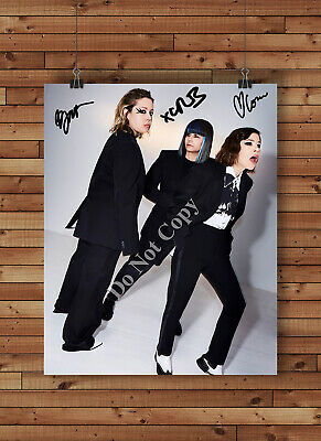 Sleater Kinney Band Signed Autographed Reprint 8x10 Photo Poster Print