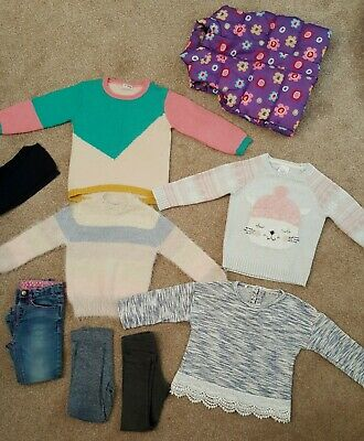 Girls Winter Clothes Bundle Age 2-3 Years ~ 9 items ~ Mainly Next