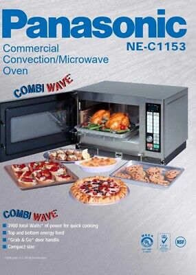 Panasonic Combi Wave Microwave & Convection Oven Model# NE-C1153