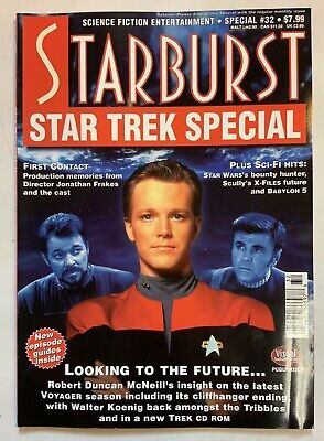 Starburst Science Fiction Entertainment 1997 Special Issue#32 Babylon 5 StarTrek