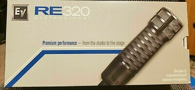 Electro-Voice RE320 Dynamic Wired XLR Professional Microphone BRAND NEW