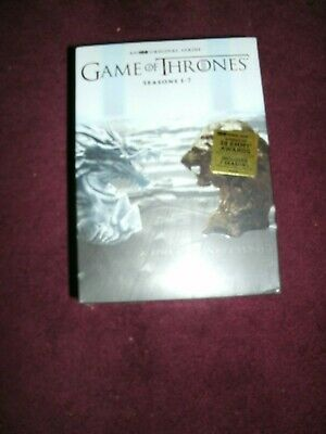 Game of Thrones: The Complete Seasons 1-7 (DVD, 34-Disc Set,2017) 1 2 3 4 5 6 7
